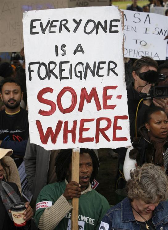 SA  Violence: Beware the 'Clash of Civilisations'
