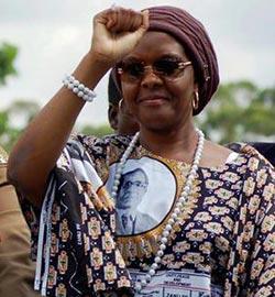 Grace Mugabe now  de facto president of Zimbabwe