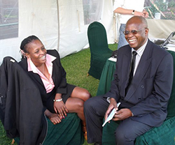 Priscilla Misihairambwi-Mushonga: Any more 'useless' condoms?  Took a baby to Parliament last week … Legislator Priscilla Misihairabwi-Mushonga
