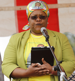 Mujuru: Setting  the record straight on war victims fund, diamonds and political violence