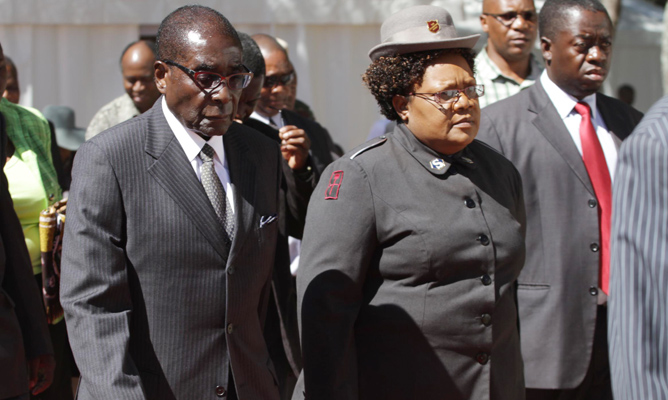 Mujuru  is not a god but Mugabe claims to be one