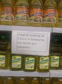 Cooking oil  shortage in Zim: The economics of sell-fulfilling prophecies
