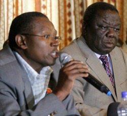 Grand  Coalition: Is the MDC-T serious?