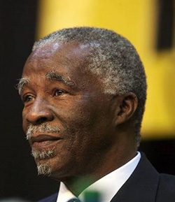 Thabo Mbeki calls for a 'rebirth'