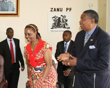 Grace  Mugabe and diplomatic immunity