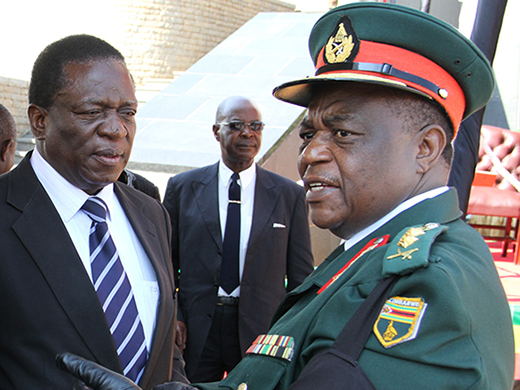 Mugabe thinks a military coup is afoot; he's probably wrong