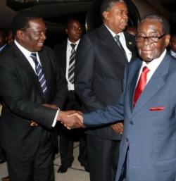 Who  is the bogeyman? Bob or Mnangagwa