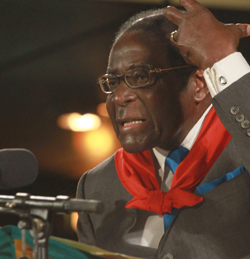 Mugabe's hero worshippers message to SA