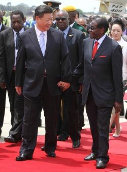 Mugabe  fall: why China role theory is hollow