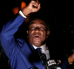 Chiwenga  and goons imposed Mnangagwa on Zim