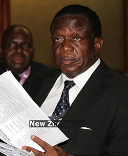 Who is running the show in Zimbabwe?