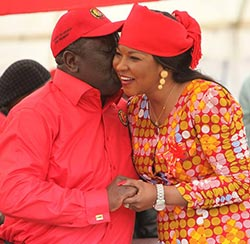 'Medical  issue' rocks Tsvangirai marriage