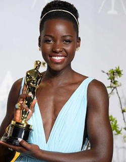 Kenya's Lupita  wins Oscar for '12 Years a Slave'  Winning performance … Lupita  Nyong'o in a scene from '12 Years A Slave'