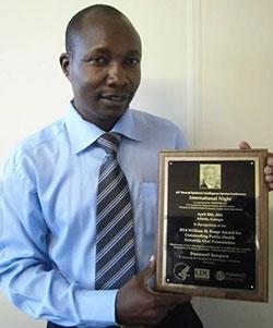 US honours Zim public health expert