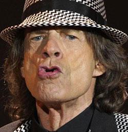 Jagger denies he  was Brazil's jinx