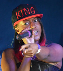 Tatiana 'King  Tatie' Chipondaminga wows Norfolk