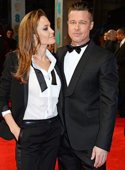 Jolie and Pitt in secret France wedding
