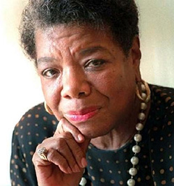 Maya Angelou's work mixed with hip-hop for album