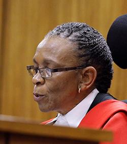 Pistorius Judge under  heavy police protection