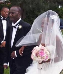 Songwriter,  guitarist Moyo stars at daughter's wedding