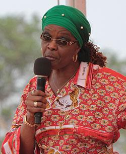 Grace Mugabe's 'buttocks' go viral