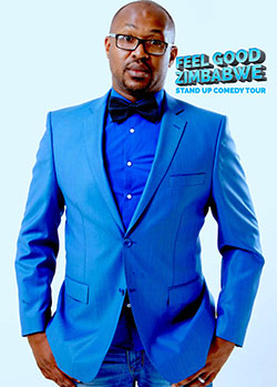Comedian  Ncube takes over Kadoma hotel  Relocating to Kadoma with his family to run hotel … Carl Joshua Ncube