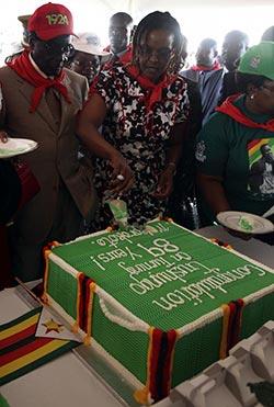 Stars among Mugabe birthday mates