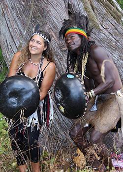 Mbira Spirit make  Canada impact  Bringing different  worlds together … Mbira Spirit duo Tafadzwa and Amy Matamba