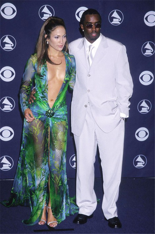 How Jennifer Lopez's Grammys dress launched Google Images