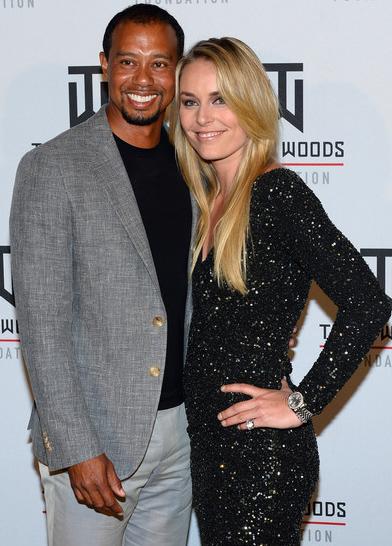 Tiger Woods:  Lindsay Vonn break-up a 'brutal' time