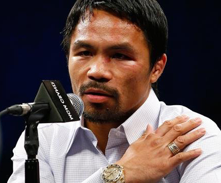 Manny Pacquiao sued  after shoulder injury dishonesty claims