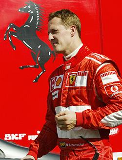 Schumacher  making 'progress', says manager
