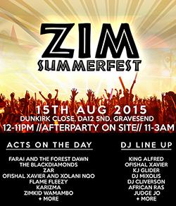 UK Zimbabwe  summer fest set for August