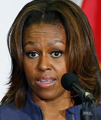 Michelle Obama developing more personal and outspoken tone