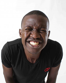 So, there's this stand-up comedian in Zimbabwe; really — this is no joke