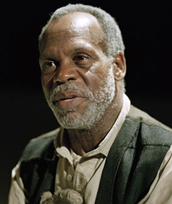 Actor Danny Glover in Nigeria to star in movie about Ebola