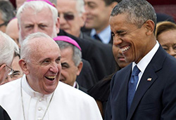 Pope Francis makes historic first US visit