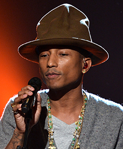 South  Africans protest against US singer Pharrell's concert