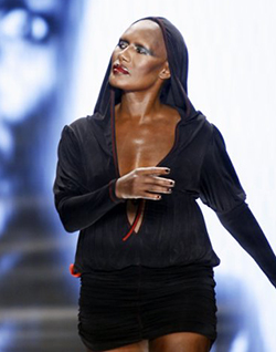 Grace Jones 'annoyed' by naked Kim Kardashian