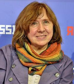 Belarussian writer wins Nobel prize, denounces Russia over Ukraine