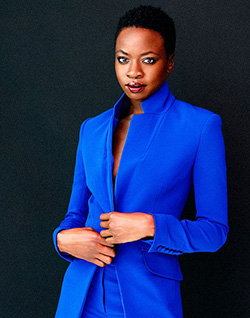 Danai  Gurira reveals the inspiration behind her Liberia-based play Eclipsed