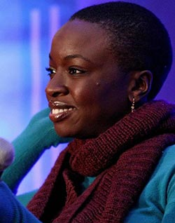 Danai Gurira: Both  zombie killer and thoughtful playwright