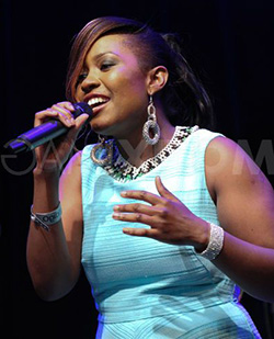 Cynthia Mare does it again as she launches third album