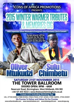 Tuku, Sulu in Birmingham winter warmer gig