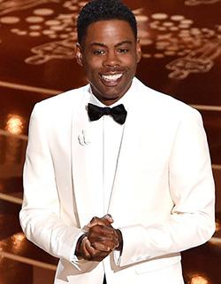 Chris Rock transforms Oscars into biting racial commentary
