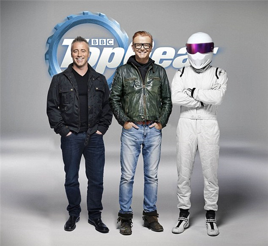 BBC's 'Top Gear' spins into more controversy with Whitehall stunt
