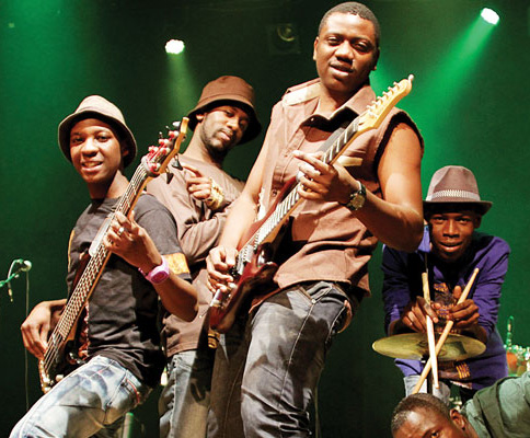 US: Zimbabwean band  Mokoomba gives a historical performance at the Apollo Theatre