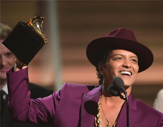 Bruno Mars returns with party anthem