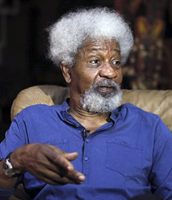 Nobel Prize winning author Wole Soyinka promises WOLEXIT after Trump win