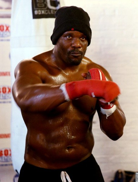 Chisora punished but bout to go ahead  Chisora received a  suspended two-year ban for hurling a table at a press conference
